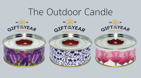 The Outdoor Candle - Set of Three The Original Collection