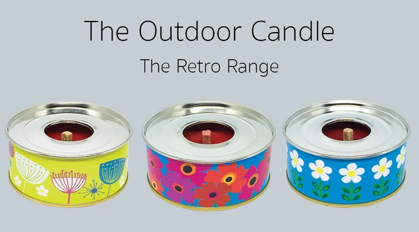 The Outdoor Candle - Set of Three The Retro Collection