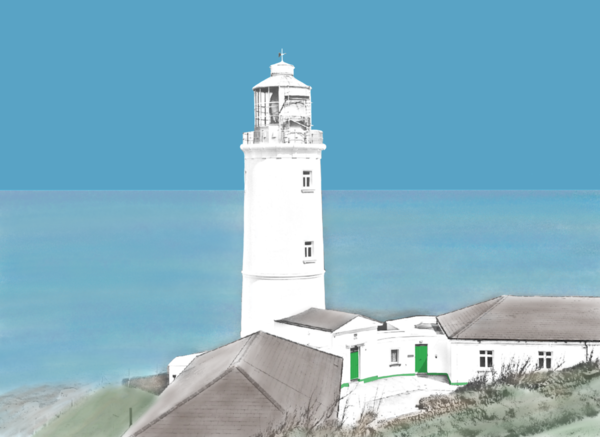 Trevose Head Lighthouse Greetings Card