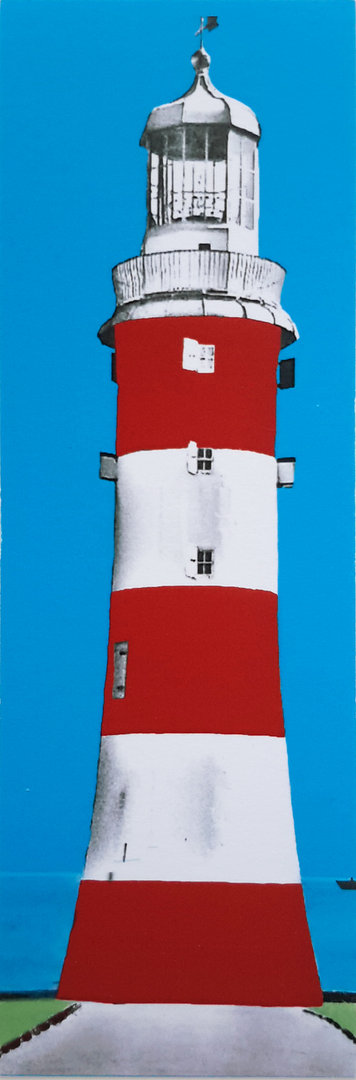 Plymouth Light House Bookmark