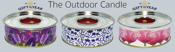 The Outdoor Candle - Cornflower